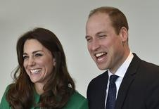 Britain's Prince William and his wife Catherine, Duchess of Cambridge in London, Britain March 10, 2016.   REUTERS/Toby Melville