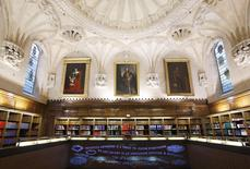 A general view shows the library of the United Kingdom's new Supreme Court building in Westminster, central London September 14, 2009. REUTERS/Andrew Winning/File Photo
