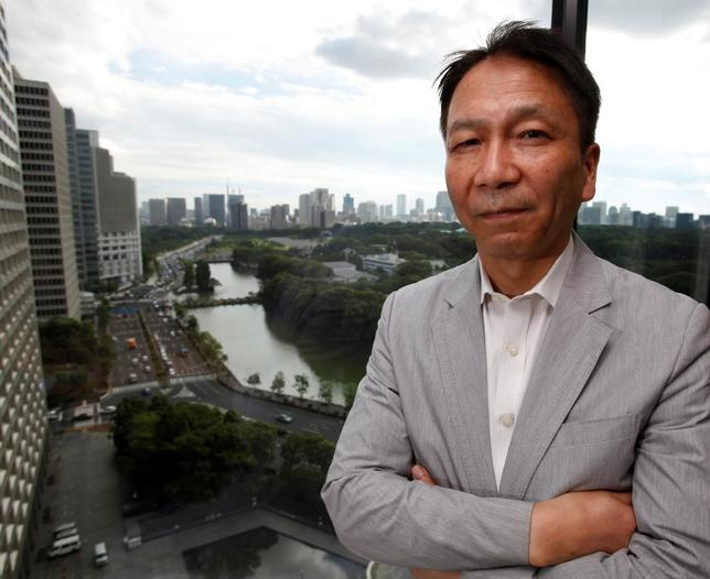 4月21日、岩田一政・日本経済研究センター理事長(元日銀副総裁)は、都内で講演し、日銀のとりえる政策選択肢として今後はマイナス金利拡大にならざるを得ないとの見解を示した。写真は都内で2012年9月撮影(2016年 ロイター/Toru Hanai )