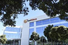 The headquarters of SunEdison is shown in Belmont, California  April 6, 2016.   REUTERS/Noah Berger/Files