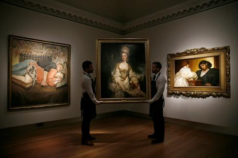 Christie's fetes 250 years in business with major British art sale