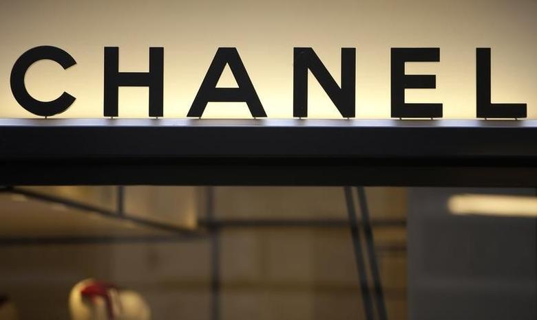 Chanel logo is seen in a shop in downtown Rome, Italy March 4, 2016. REUTERS/Max Rossi