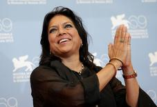 Indian film director Mira Nair poses during a photocall for the movie The Reluctant Fundamentalist at the 69th Venice Film Festival in Venice August 29, 2012. REUTERS/Max Rossi