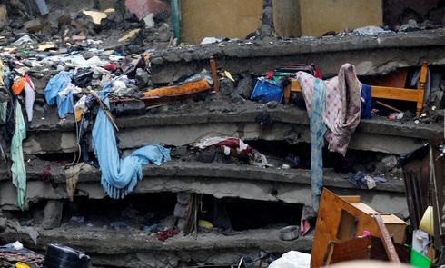Building collapse in Kenya