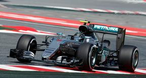Formula One - Spanish Grand Prix - Barcelona-Catalunya racetrack, Montmelo, Spain - 13/5/16 Mercedes F1 driver Nico Rosberg takes a curve during the first free practice. REUTERS/Albert Gea