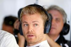 Mercedes F1 driver Nico Rosberg attends the second free practice. Spanish Grand Prix - Barcelona-Catalunya racetrack, Montmelo, Spain - 13/5/16. REUTERS/Juan Medina.