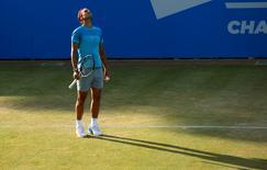 Tennis - Aegon Championships - Queens Club, London - 18/6/15 Men's Doubles - Spain's Rafael Nadal looks dejected during the quarter final Action Images via Reuters / Tony O'Brien Livepic