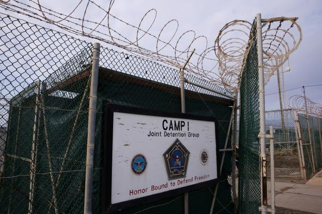 A sign identifies Joint Task Force Guantanamo's closed down Camp I at the U.S. Naval Base in Guantanamo Bay, Cuba March 22, 2016.  REUTERS/Lucas Jackson/File Photo