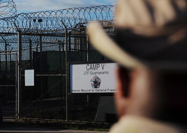 The outside of the ''Camp Five'' detention facility is seen at U.S. Naval Station Guantanamo Bay, Cuba December 10, 2008.  REUTERS/Mandel Ngan/Pool/File Photo