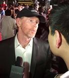 """Diretor Ron Howard fala com jornalistas enquanto promove o filme """"Inferno"""", em Cingapura 14/06/2016 REUTERS/Pedja Stanisic"""
