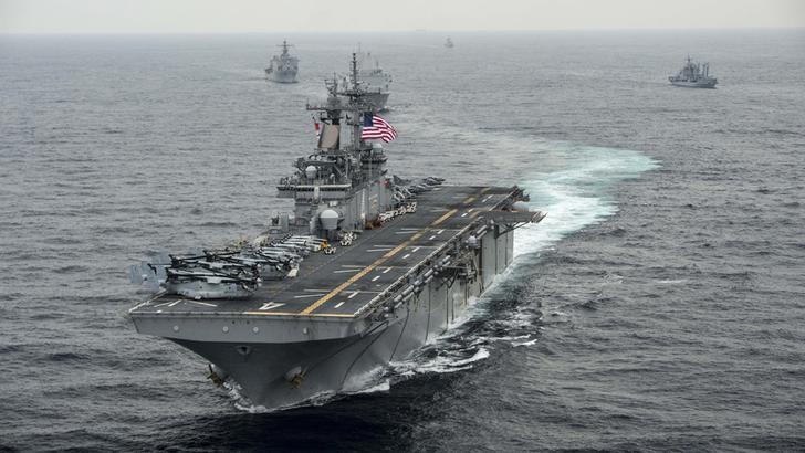 米第3艦隊が東アジアへ活動範囲...