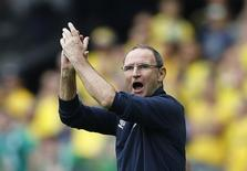 Republic of Ireland head coach Martin O'Neill REUTERS/Darren Staples