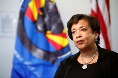 United States Attorney General Loretta Lynch speaks to Reuters in an exclusive interview in Phoenix, Arizona, U.S., June 28, 2016. REUTERS/Nancy Wiechec
