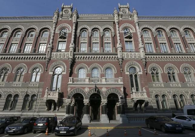 The headquarters of Ukrainian central bank is seen in central Kiev, Ukraine, March 10, 2016.  REUTERS/Valentyn Ogirenko/Files