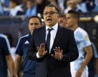 Técnico Gerardo Martino na Copa América Centenário. 18/6/2016.  Reuters/Winslow Townson-USA TODAY Sports