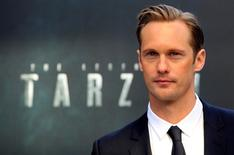 "Swedish actor Alexander Skarsgard poses at the European premiere of the film ""The Legend of Tarzan"" at Leicester Square in London, England, July 5, 2016. REUTERS/Paul Hackett"