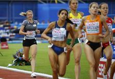 Athletics - European championships - Women's 800m qualifiaction - Amsterdam - 6/7/16 Yulia Stepanova of Russia competes. REUTERS/Michael Kooren