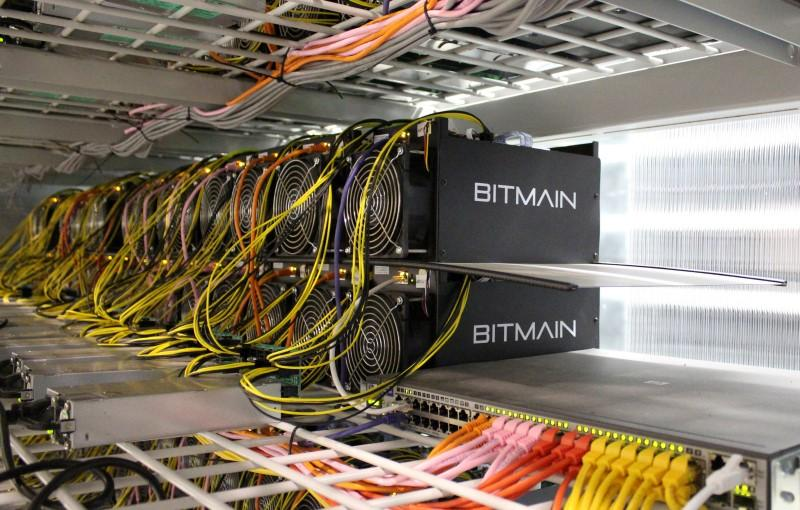 Bitcoin Mining Computers Are Pictured In Bitmains Farm Near Keflavik Iceland June 4 2016 Picture Taken REUTERS Jemima Kelly