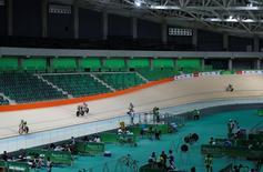 Evento no velódromo dos Jogos do Rio.  26/6/2016.   REUTERS/Sergio Moraes