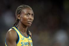 Sweden's 1,500 metres indoor world champion Abeba Aregawi is pictured in Beijing in this August 25, 2015 file photo. REUTERS/Jessica Gow