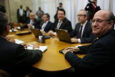 Presidente do Banco Central, Ilan Goldfajn, durante reunião do Comitê de Política Monetária (Copom), em Brasília 19/07/2016. REUTERS/Adriano Machado