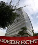 La casa matriz de Odebrecht en Sao Paulo, mar 22, 2016. Las acciones de los principales bancos brasileños sufrían el jueves su peor baja diaria en un mes luego que un blog de finanzas reportó que la constructora Odebrecht SA estaba considerando pedir la protección por bancarrota, algo que la compañía negó  REUTERS/Paulo Whitaker