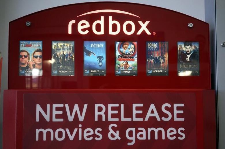 A Redbox video rental machine is seen at a Walmart in Broomfield, Colorado November 24, 2014.  REUTERS/Rick Wilking