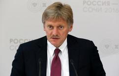 Porta-voz do Kremlin, Dmitry Peskov, durante encontro em Sochi.    19/05/2016      REUTERS/Sergei Karpukhin/Files