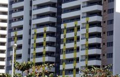 Vista do prédio que abriga os atletas australianos na Vila Olímpica do Rio de Janeiro 24/07/2016 REUTERS/Pilar Olivares