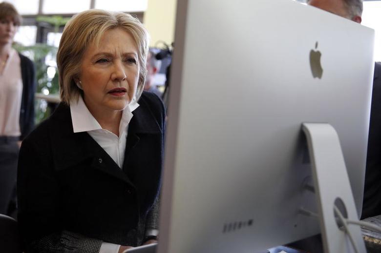 La candidata democratica alla presidenza Hillary Clinton è stata vittima di un cyber attacco. Il colpo, ha rivelato che ha cancellato oltre 35 000 email quando era segretario di Stato nel primo mandato Obama - Foto: Reuters