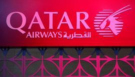 Qatar Airways a annoncé lundi avoir porté sa participation dans IAG, la maison mère de British Airways et d'Iberia, à 20,01% au lieu de 15,67% précédemment, tout en assurant n'avoir pas l'intention de se renforcer davantage sauf en cas de changement majeur. /Photo d'archives/REUTERS/Fabrizio Bensch