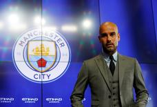 Manchester City - Pep Guardiola Press Conference - City Football Academy - 8/7/16 Manchester City manager Pep Guardiola during the press conference REUTERS/ Phil Noble