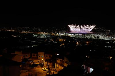 Opening Ceremony from the favela