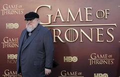 """Coprodutor executivo George R.R. Martin chega para première da temporada da série """"Game of Thrones"""" em San Francisco, EUA 23/03/2015 REUTERS/Robert Galbraith/File Photo"""