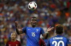 Portugal v France - EURO 2016 - Final - Stade de France, Saint-Denis near Paris, France - 10/7/16France's Paul Pogba in actionREUTERS/Kai Pfaffenbach/File Photo
