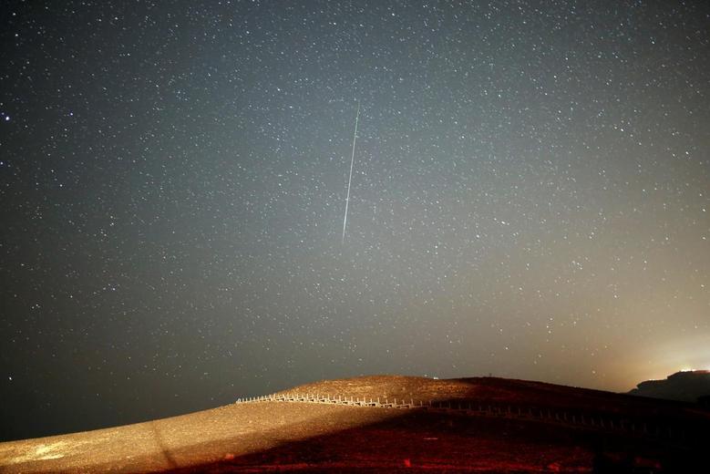 Perseid meteor shower   Reuters com