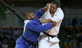 Rafael Silva  e Roy Meyer 12/08/2016.  REUTERS/Toru Hanai