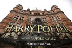 Vista geral do The Palace Theatre, onde a peça Harry Potter e a Criança Amaldiçoada, Partes 1 e 2, está sendo encenada, em Londres 30/07/2016 REUTERS/Neil Hall