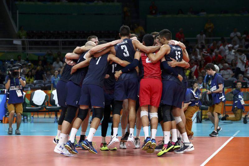 Volleyball: U S  men make semis seeking revenge - Reuters