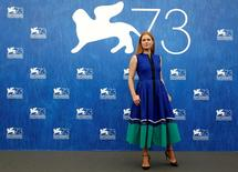 """Actress Amy Adams attends the photocall for the movie """"Arrival"""" at the 73rd Venice Film Festival in Venice, Italy September 1, 2016. REUTERS/Alessandro Bianchi"""