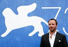 """American director Tom Ford attends the photocall for the movie """"Nocturnal Animals"""" at the 73rd Venice Film Festival in Venice, Italy September 2, 2016. REUTERS/Alessandro Bianchi"""