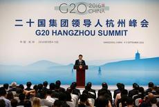Presidente da China, Xi Jinping, na cúpla do G20. 05/09/2016 REUTERS/Damir Sagolj