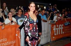 "Brie Larson arrives on the red carpet for the film ""Free Fire"" during the 41st Toronto International Film Festival (TIFF), in Toronto, Canada, September 8, 2016.    REUTERS/Mark Blinch"