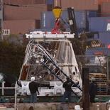 Jeff Bezos a dévoilé lundi un projet de nouveau lanceur réutilisable, appelé à faire concurrence d'ici la fin de la décennie à la société SpaceX (photo) d'Elon Musk sur le marché des mises en orbite de satellites commerciaux. /Photo d'archives/REUTERS/Gene Blevins