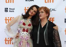 Actress Rachel Weisz and Deborah E. Lipstadt arrive for the premiere of the film Denial at TIFF the Toronto International Film Festival in Toronto, September 11, 2016.    REUTERS/Fred Thornhill