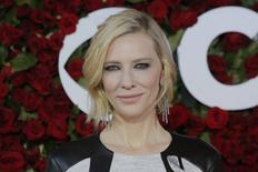 Actress Cate Blanchett arrives for the American Theatre Wing's 70th annual Tony Awards in New York, U.S., June 12, 2016. REUTERS/Andrew Kelly