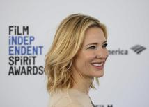 Atriz Cate Blanchett em Santa Monica. 27/02/2016 REUTERS/Danny Moloshok