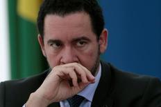 Ministro Dyogo Oliveira, durante entrevista  2/6/2016 REUTERS/Ueslei Marcelino
