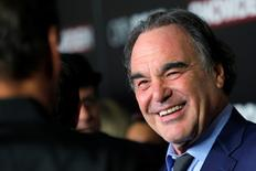 """Director Oliver Stone attends the premiere of the film """"Snowden"""" in Manhattan, New York, U.S., September 13, 2016.  REUTERS/Andrew Kelly"""