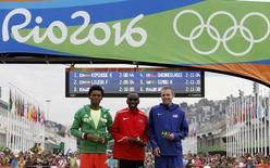 Final da Maratona nos Jogos Rio 2016.  21/08/2016.    REUTERS/Athit Perawongmetha